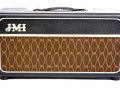 Replica JMI Reverberation Unit JMRV, made in UK, met 3 spring Accutronics Reverb tank, Black.