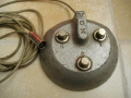 Vox 3 button footswitch RDV.