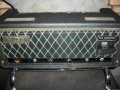 1967- Vox Dynamic Bass Amp, back closed head grillcloth JMI uitvoering met chrome Amp support (Luggage rack).