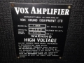 1967- Vox Foundation Bass, VSEL typeplaatje head.