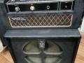 1967- Vox Foundation Bass cabinet, niet bekleed speakerbord (baffle), zie opening basreflexkast.