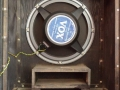 1967- Vox Foundation Bass, closed cabinet open, basreflexkast en Goodmans 18 inch speaker 16 ohm.