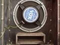 1967- Vox Foundation Bass, closed cabinet open, basreflexkast en Goodmans 18 inch speaker 16 ohm.