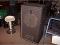 1967- Vox Super Foundation Bass head en 1x18 inch cabinet met basreflexkast.