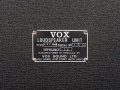 1967- Vox Super Twin Foundation Bass , VSL typeplaatje cabinet.