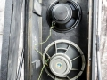 Vox T60 cabinet met Fane speaker 122-12 12 inch 15 ohm alnico en 15 inch Celestion speaker T.1116 15 inch 4 ohm ceramic Poly Grey.
