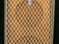 Vox T60 MKIIa head en cabinet, eind 1963 bruin doek, 15 inch en 12 inch speaker.