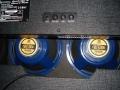 1999-2002 Vox Cambridge 30R Twin V9320, Solid State plus in preamp 1 ECC83, 2 kanalen Reverb-Tremolo, 2 x 10 inch Celestion Blue Bulldog HD speakers. Made in Korea.back.