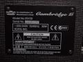 1999- Vox Cambridge 15 V9159, Made in Korea, typeplaatje.