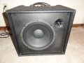 2001-2005 T60 Solid State Bass amp 60 watt, 12 inch speaker en horn. Made in Korea.