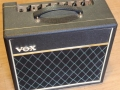 2002-2008 Vox Pathfinder combo 15R(everb) V9168R Solid State, Black grillcloth, tremolo, Spring Reverb. Made in Vietnam.