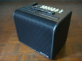 2010- AGA150 Acoustic Amp 150 watt RMS, Vox Custom speaker 6,5 inch. Vents top en zijwaarts. Shadow Diamond Grillcloth. Made in Vietnam.