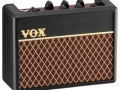 2010 Vox AC1 RV Rhythm Vox mini battery amp, 1 watt output, 2x3 inch speakers. front