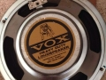Vox label 8 inch Bulldog Heavy Duty speaker, als gebruikt in Vietnamese Vox Pathfinder V9168(R) 2002-2013.