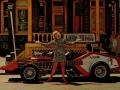 The Amazing Voxmobile, publiciteitsstunt van president Joe Benaron, gebouwd door George Barris (RIP), ook bouwer van The Batmobile.