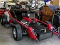 The Vox Mobile car, Ford Cobra 4,7 ltr V8 motor, 175 mile of 280 km per uur. Vanaf 2008 eigendom van Bill Baker uit Denver, sinds 2015 van Kevin Ryan en Brian Brock.