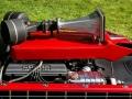 The Vox Mobile car, Ford Cobra 4,7 ltr V8 motor, 175 mile of 280 km per uur en tweeters met luchthoorns.