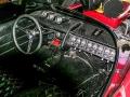 The Vox Mobile met Beatle dashboard, er zijn 3 Beatle Amps on board. Black Diamond Grillcloth op de stoelen.