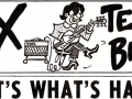 Vox Teenbeat, logo van Vox eigen newspaper die over de hele staat werd gedistribueerd.