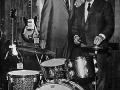 Vox Thomas Joe Benaron en KH Weimer Trixon Drums Hamburg =VOX 1965 US market