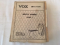 Vox Thomas Servicemanual 1968.