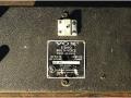 Vox Ampliphonic Stereo Multivoice 95-910311, typeplaatje.
