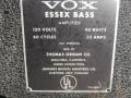 1965- Vox Essex Bass V4-V104 typeplaatje.