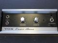 1966-1967 Vox Essex Bass V4-V104, V1041,V1042,V1043, controlpanel, 2 inputs, Volume, Xtone en Line-reverse.