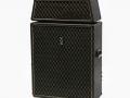 1967- Vox Sovereign Bass V117 Head (= Westminster V1181) 60 watt met spaanplaat V417 cabinet waarin 4x12 inch Oxford Gold Bulldog 12T6 ceramic speakers. 2