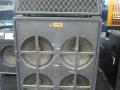 1967- Vox Sovereign Bass V117 Head met spaanplaat V417 cabinet waarvan opgelijmde grillcloth van speakerbord (baffle) verwijderd.