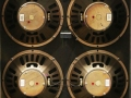 1967 Vox Sovereign Bass V417 4 ohm, open, 4xOxford 12T6 ceramic fanspeakers.