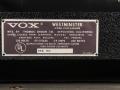 1968- Vox Westminster Bass V1182 120 watt typeplaatje.