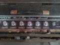 1965- Vox Berkeley V8 buizen, black panel controls Volume, Treble, Bass, Reverb, Tremolo S-D.
