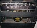 1965- Vox Cambridge Reverb tube V3, black panel, rechte opening met Oxford (Chicago) Golden Bulldog Alnico 10 inch.
