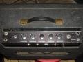 1965- Vox Pacemaker V2 buizen, 1 kanaal, 3 inputs. Controls volume, Treble, Bass en Tremolo speed en depth.