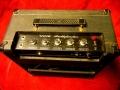 1965- Vox Pathfinder V101 buizen, 1 kanaal, 2 inputs. Controls volume, treble, bas, tremolo speed-depth.