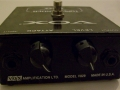 Vox Tone Bender Fuzz pedal V829, made in USA.