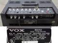 1966- Vox Beatle V1142II typeplaatje V1141 plaatje omgeplakt door Thomas Organ.