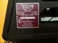 1966- Vox Berkeley II V1081 typeplaatje.