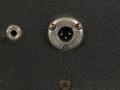 1966- Vox Buckingham 3 pins Amphenol XLR ter borging speakerkabel en bijgemaakte externe speakerjack.