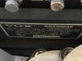 1966- Vox Buckingham V1123 typeplaatje en effectcontrols.