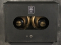 1966- Vox Buckingham cabinet V412 half open oval back.