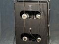 1966- Vox Super Beatle V1141 en V414 cabinet open back met 4 Britse G12 Celestions T.1656 Silver 8 ohm en 2 Goodmans Midax horns 16 ohm.