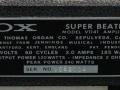 1966- Vox Super Beatle V1141, typeplaatje.