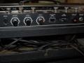 1968- Vox Berkeley III V1083 controlpanel back met footswitch, Trem S-D, Reverb, MRB, line reverse, externe speaker, E-Tuner.