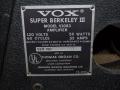 1968- Vox Berkeley III V1083 typeplaatje.