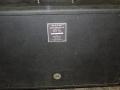 1968- Vox Berkeley III spaanplaat closed back 4 ohm cabinet V4083 van Berkeley III V1083 typeplaatje.