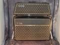 1968- Vox Berkeley Super Reverb III V1083 met spaanplaat cabinet V4083 en trolley, in Levant Grain vinyl.
