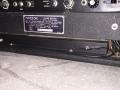 Vox V114 Super Beatle controls back en spring reverb.