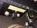 1966- Vox Pathfinder V1011 US Solid State, heat sink met trafo en de 2 transistors.